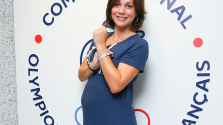 PHOTOS Nathalie Péchalat enceinte: son ventre rond commence à bien se voir!