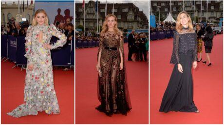 DIAPO Festival de Deauville 2016: Chloë Grace Moretz, Diane Kruger et Julie Gayet tout en transparence sur le tapis rouge