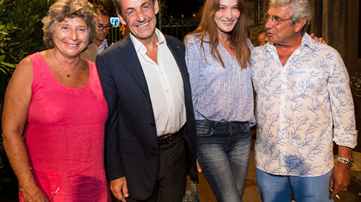 DIAPO Carla Bruni et Nicolas Sarkozy : apparition surprise au concert de Julien Clerc