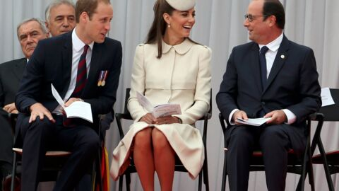 PHOTOS Kate et William complices avec François Hollande