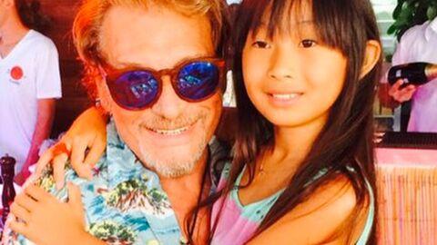 PHOTOS Johnny et Laeticia Hallyday fêtent les 11 ans de Jade