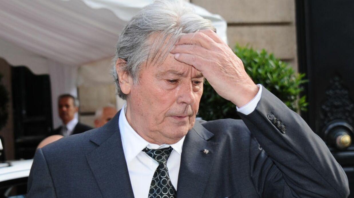Alain Delon hospitalisé pour un problème cardiaque