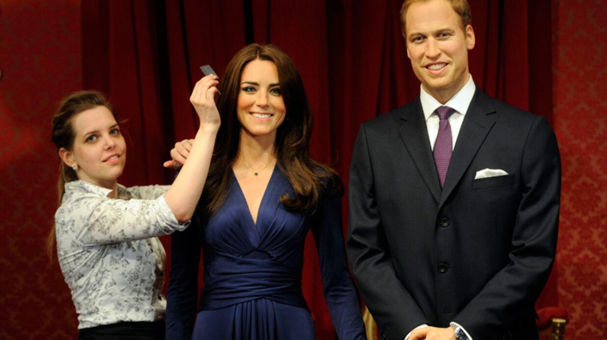 PHOTOS Les statues de cire très réussies de Kate et William