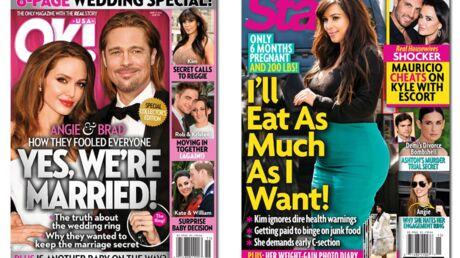 En direct des US: le mariage secret de Brad Pitt et Angelina Jolie