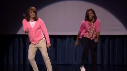 VIDEO Michelle Obama danse au Tonight Show pour la bonne cause
