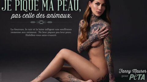 PHOTO Fanny Maurer (Secret Story 6) pose nue pour défendre les animaux