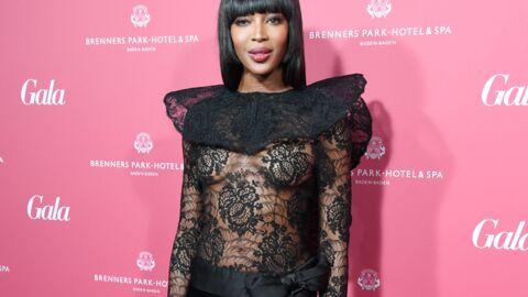 PHOTOS Naomi Campbell: tout en transparence, elle affiche sa poitrine aux Gala Spa Awards 2016