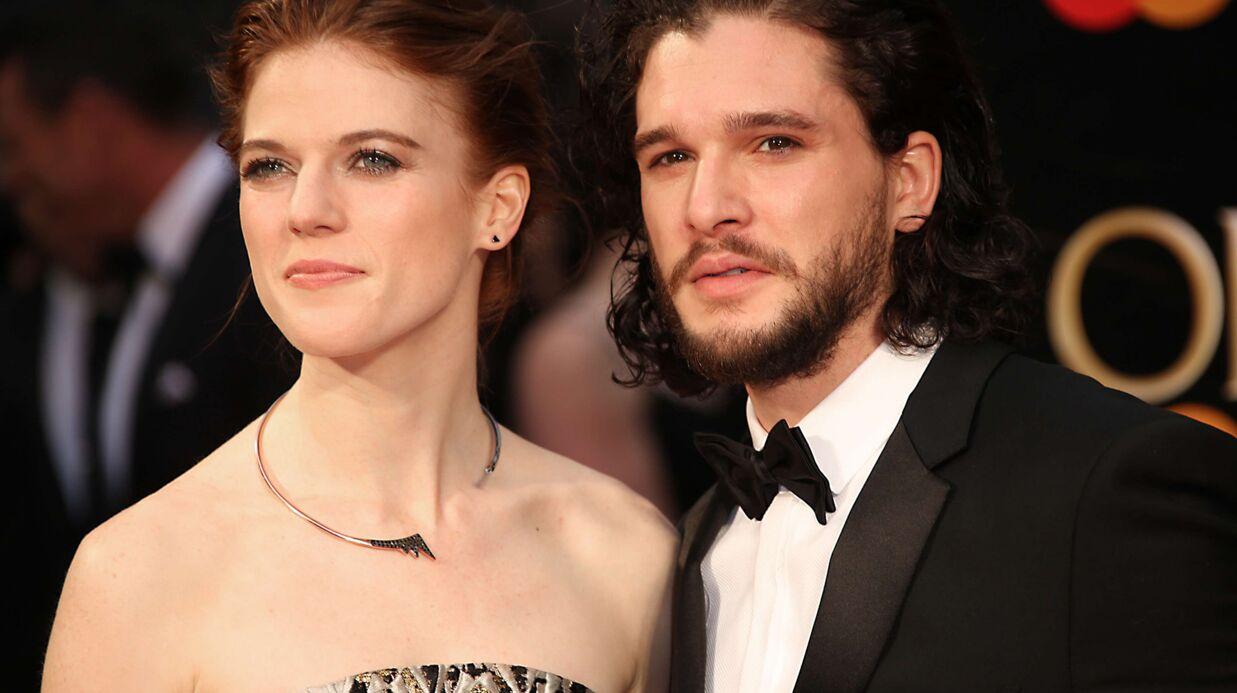 PHOTOS Kit Harington et Rose Leslie (Game of Thrones) en couple: ils officialisent sur tapis rouge