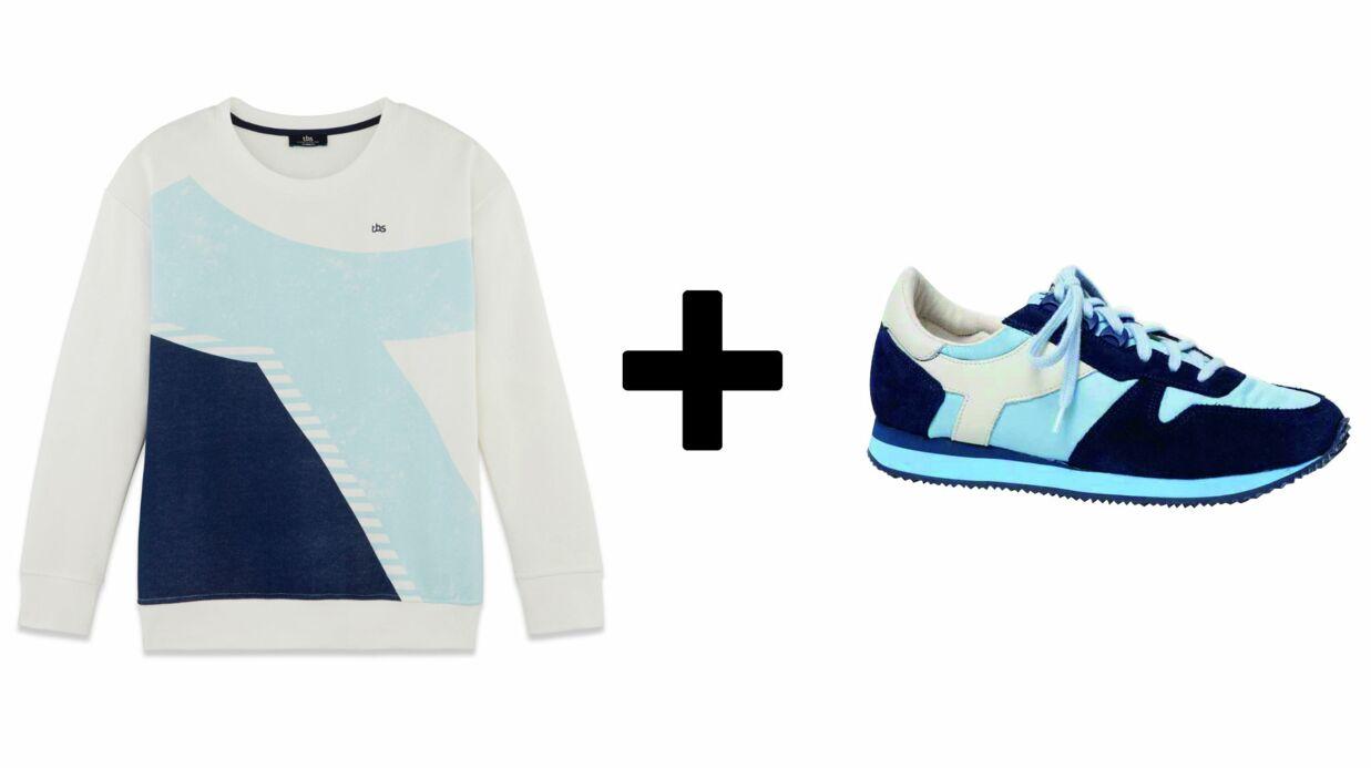 MODE sweats et sneakers, le bon duo rétro