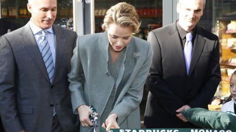 PHOTOS Elle en rêvait, Charlène inaugure le premier Starbucks de Monaco