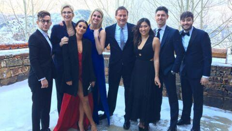 PHOTOS Les acteurs de la série Glee réunis pour un heureux événement