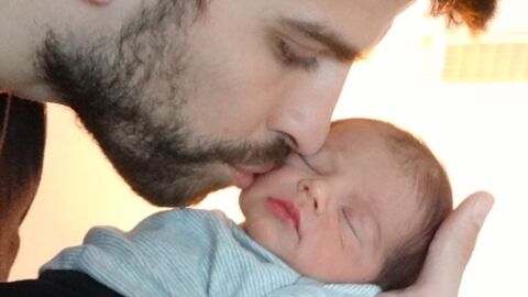 PHOTO Le visage de Milan, le fils de Shakira et Gérard Piqué