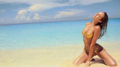 VIDEO Les top-models sexy de Victoria's Secret sur une île paradisiaque