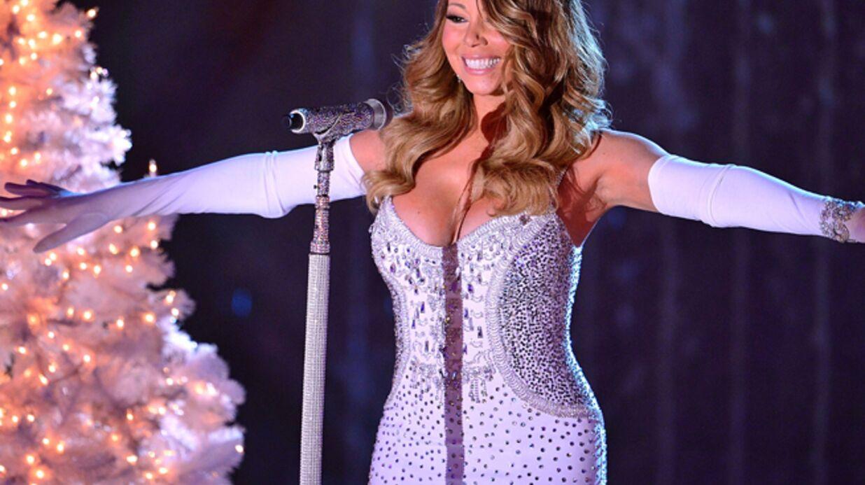 PHOTO Mariah Carey exhibe (encore) son impressionnant décolleté