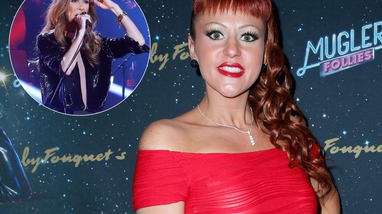 Cindy Sander: son invitation à Céline Dion