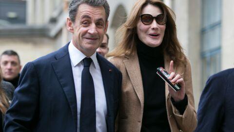 Carla Bruni vante les mérites d'auteur de Nicolas Sarkozy