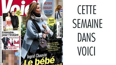 C'est dans Voici: Ingrid Chauvin en plein bonheur, la rupture d'une chanteuse