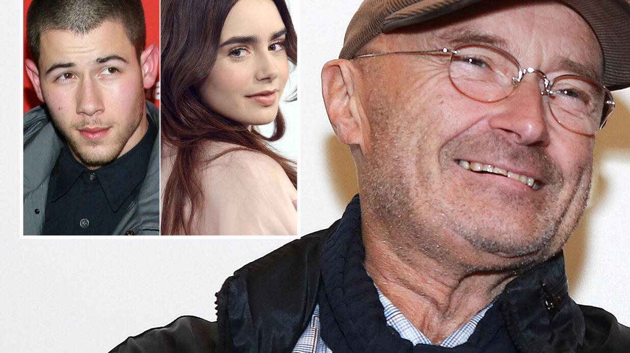Phil Collins dément la liaison entre sa fille Lily et Nick Jonas