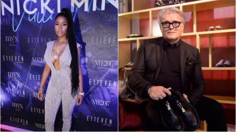 Nicki Minaj clashe sévèrement le créateur italien Giuseppe Zanotti