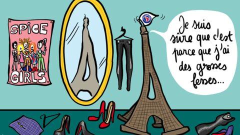 Louison a croqué: Beckham refuse de venir à Paris