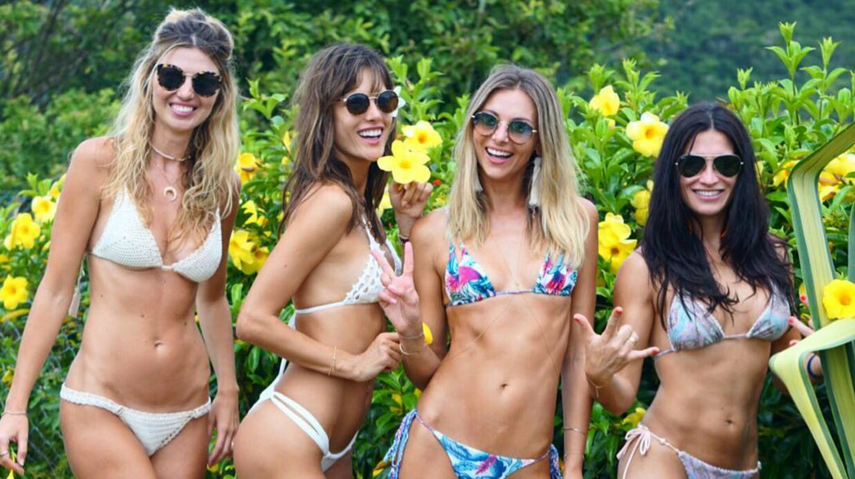 PHOTOS Alessandra Ambrosio et ses copines super sexy posent topless en string