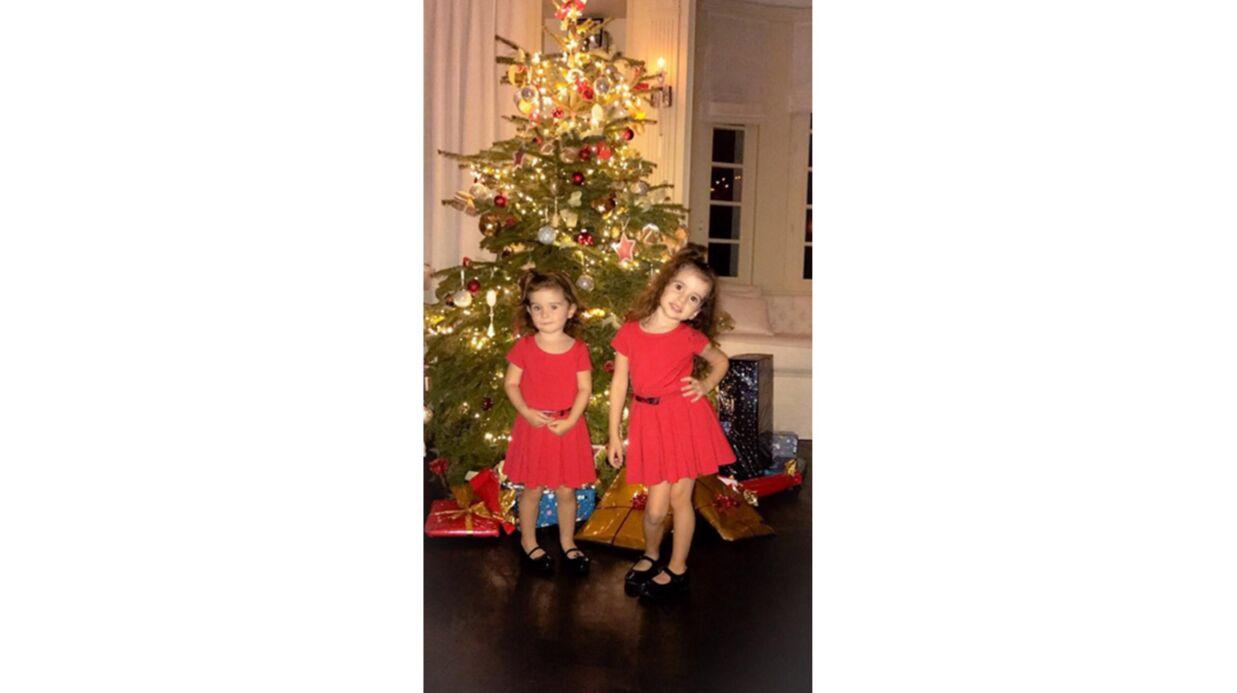 PHOTOS Jade Lagardère poste d'adorables clichés avec ses enfants à Noël