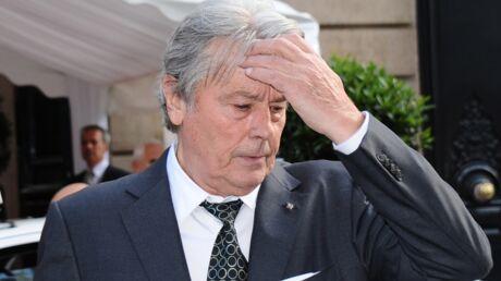 Alain Delon «très triste» après l'arrestation de son fils