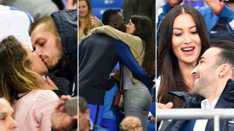 PHOTOS Les Bleus et leurs compagnes se lâchent à l'issue du match France-Islande