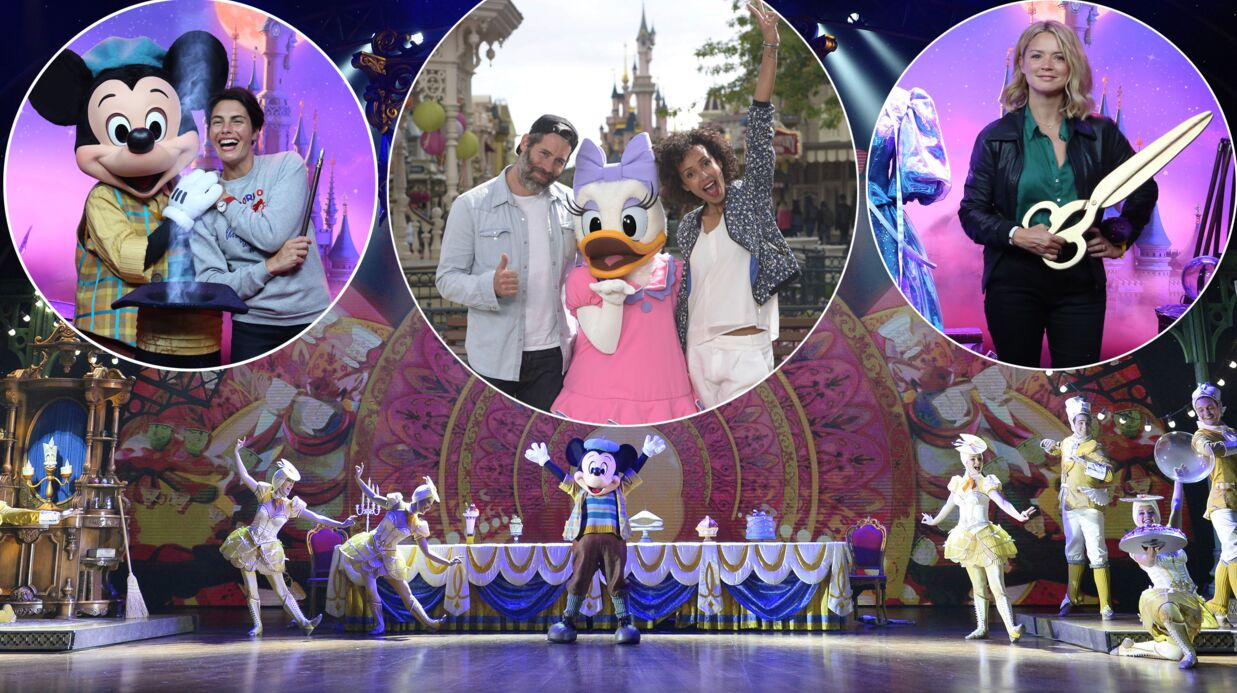 PHOTOS Les stars célèbrent Mickey et le magicien à Disneyland Paris