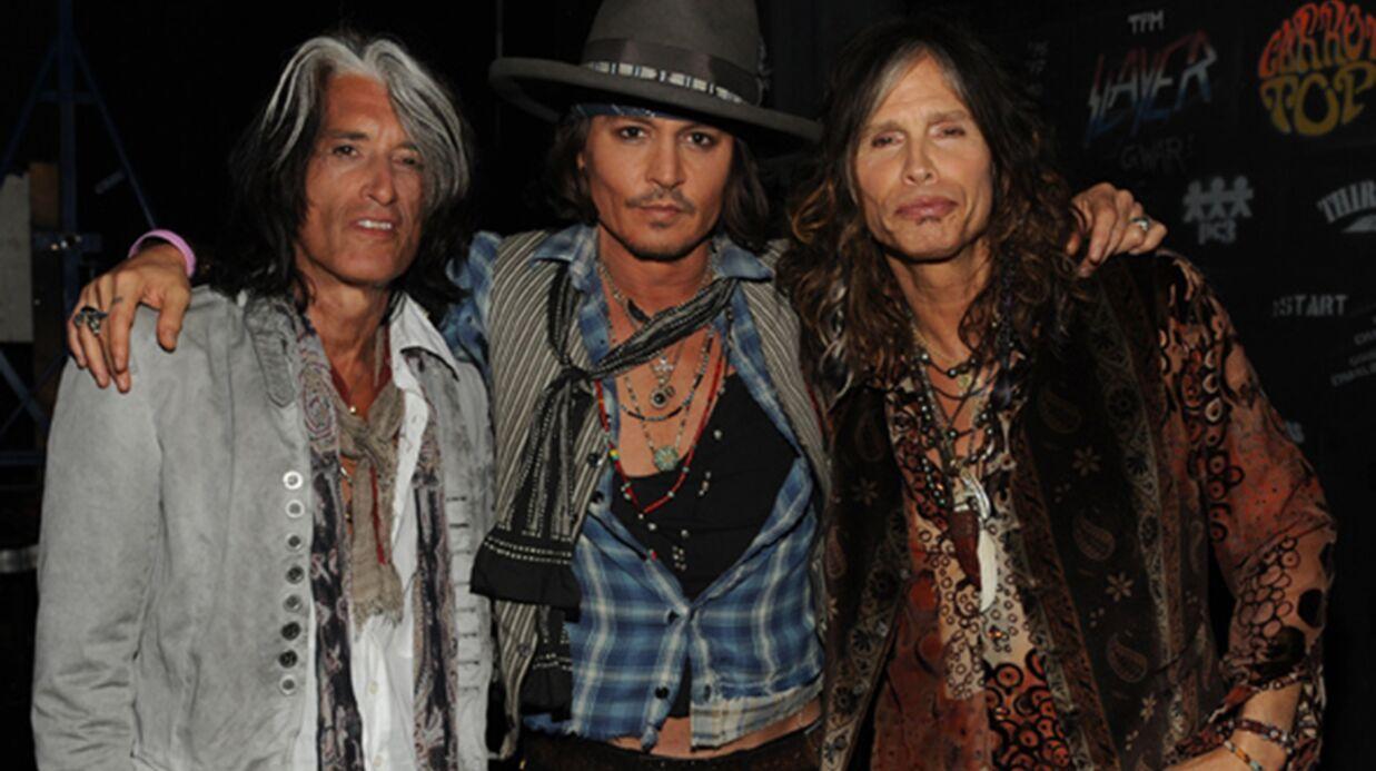 PHOTOS Johnny Depp a fait son cinéma en musique