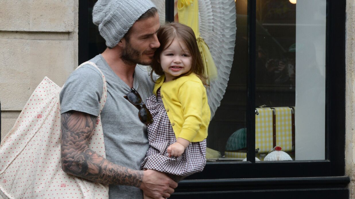 David Beckham horrifié à l'idée qu'Harper ait un rancard