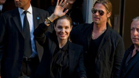 DIAPO Brad Pitt et Angelina Jolie: dîner romantique et boîte de nuit à Paris