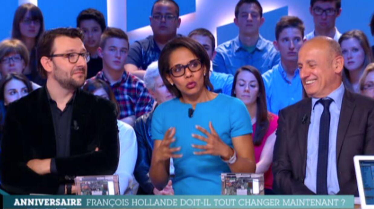 VIDEO Audrey Pulvar tacle Arnaud Montebourg sur Canal+