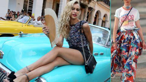 PHOTOS Karl Lagerfeld: son sublime défilé Chanel à Cuba avec une flopée de stars