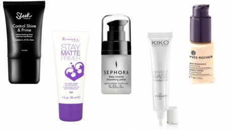 Top 5 des primers (base de maquillage) à moins de 12 euros