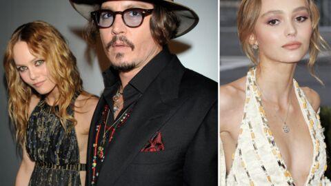 Vanessa Paradis et Johnny Depp «inquiets» par la starisation de leur fille Lily-Rose