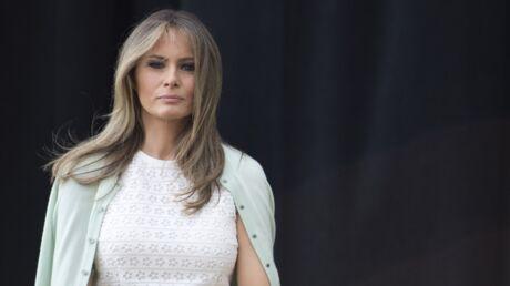 Melania Trump prétend qu'elle n'était «pas au courant» après son like d'un tweet critique sur Donald Trump