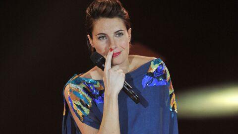 PHOTOS Alessandra Sublet fait son défilé aux Victoires de la Musique