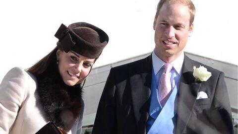 DIAPO Prince William et Kate Middleton radieux à un mariage
