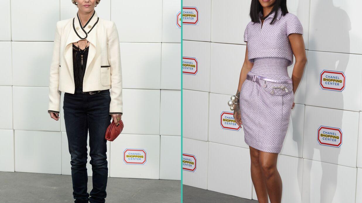PHOTOS Vanessa Paradis et Rihanna au supermarché pour le défilé Chanel