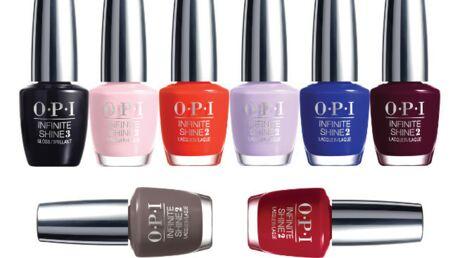 Brillance et longue tenue avec OPI Infinite Shine