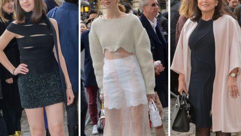 PHOTOS Fashion week: Marina Kaye sexy, Chiara Ferragni tout en transparence et Anne Sinclair élégante au défilé Dior