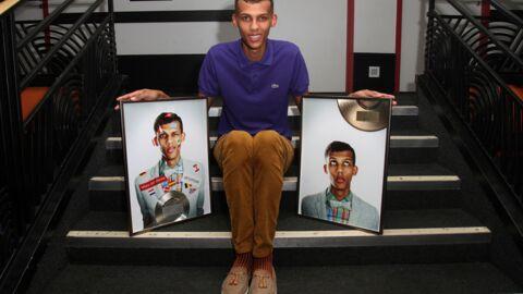PHOTO Stromae reçoit des disques d'or et de platine à l'Olympia