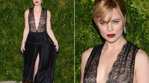 PHOTOS L'actrice Melissa George seins nus à la soirée Vogue