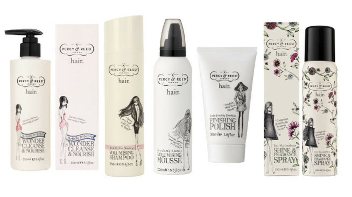 La marque Percy &Reed arrive en exclusivité sur l'e-shop Sephora
