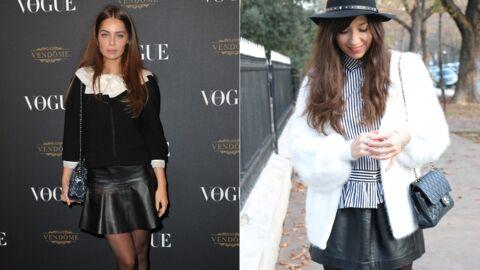924b5ae46c9ff Le shopping de Marieluvpink   on adopte la petite jupe en cuir comme  Marie-Ange