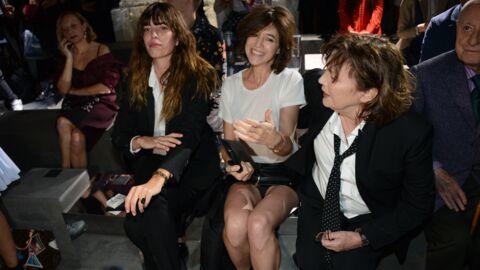 PHOTOS En mini jupe, Charlotte Gainsbourg montre malencontreusement ses dessous