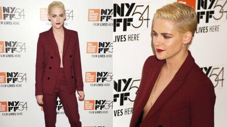 PHOTOS Kristen Stewart canon et ultra décolletée au New York Film Festival
