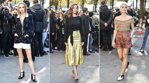 PHOTOS Fashion Week : Lily-Rose Depp et Marie-Ange Casta superbes chez Chanel