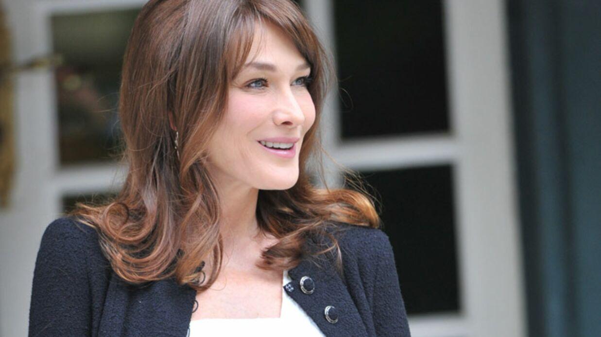 Carla Bruni «n'en peut plus», elle a hâte d'accoucher